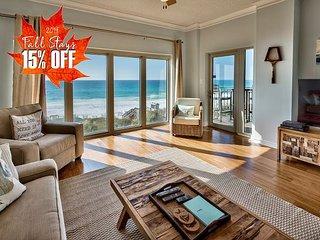 15% OFF FALL! BEACH FRONT w/  Pool~Hotub~Spa *Resort + FREE VIP Perks & MORE!