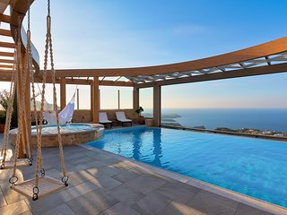 Luxury Villa Blue Key with Heated Pool★Hamam★Jacuzzi★Billiard★Near Beach