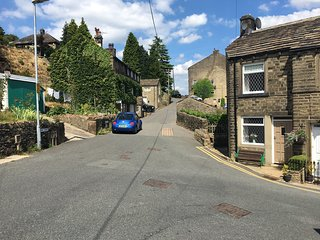 No.18 Holmfirth, incl parking. Close to centre, ideal for Picturedrome.