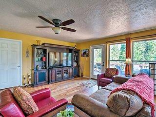 NEW! Updated Garden Valley Home w/ Deck & Hot Tub!