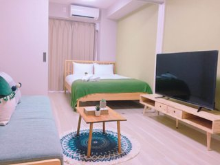 TH7 Comfy and Cozy! Newly Built! 1 min walk to Hanazonocho stn near Namba