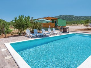Nice home in Tisno w/ Outdoor swimming pool, WiFi and 2 Bedrooms (CDJ625)