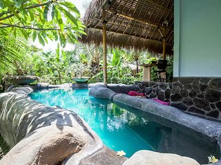 3 Bedroom Villa with incredible views of rice fields