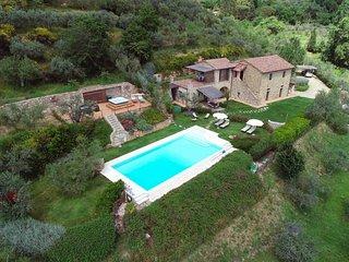 Moriello Villa Sleeps 8 with Pool and WiFi - 5604629