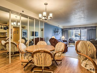 ON THE STRIP! | Classic 2 Bdrm Condo | Retro Comfort