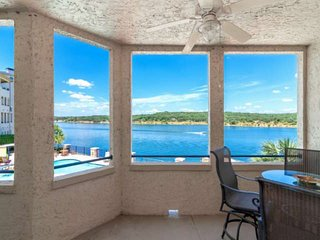 NEW! Waterfront Condo w/Spectacular Views! Deck, Steps Down to Pool, Resort Amen