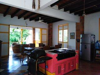 Cauca viejo, Casa  Las Mananitas , Antioquia. COLOMBIA.                       .