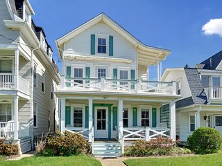 Beach Block House in Ocean Grove - Recent Listing.  Aug/Sep 2019 availability.