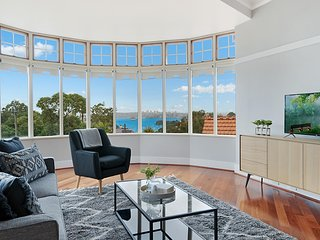 Huge harbour view apartment in historic home