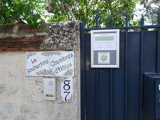 Chambre d'hotes  La JOUBERTINE