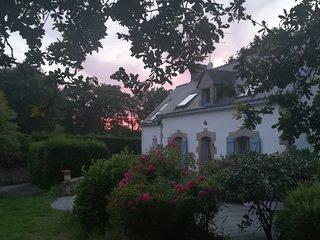 Maison de charme avec magnifique terrain arboré