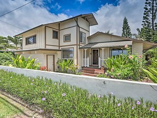 NEW! Beautiful Hauula Home w/Porch, Walk to Beach!