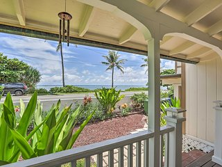 Beautiful Hauula Seasonal Rental, Walk to Beach!