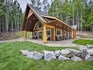 Spacious Cabin By Priest Lake & Elkins Resort