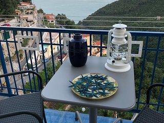 La Casa Azzurra in Costiera Amalfitana ad Albori di Vietri sul Mare