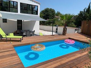 Villa T5 Contemporaine avec piscine à Montpellier