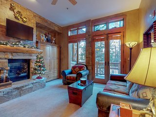 NEW LISTING! Ski-in/out condo w/shared pool/hot tub/sauna, private steam room
