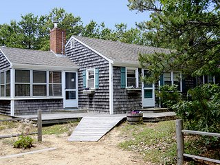 Charming Cape Cod cottage 500 feet to beach w/ deck & hammock!