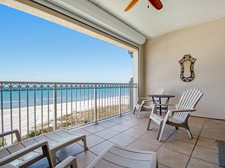 Gulf front townhome right on the beach with shared heated pool!