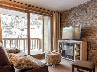 Vacances de Ski Près des Pistes | Appartement Chaleureux + Cheminée