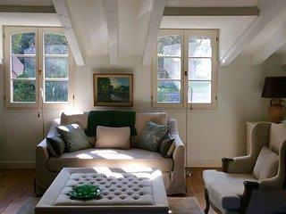 Residenza Vista Roia, comfortabel penthouse appartement op 15 km van zee