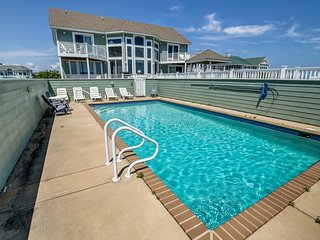 Duck 'N Out Sleep 'N Inn | Oceanfront | Private Pool, Hot Tub | Duck