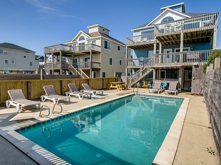 Bikinis and Martinis | Oceanfront | Private Pool, Hot Tub | Nags Head
