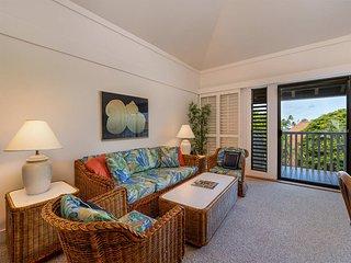 Poipu Beach Bliss w/Lanai, Open Kitchen, Ceiling Fans, TVs, DVD, WiFi–Kiahuna