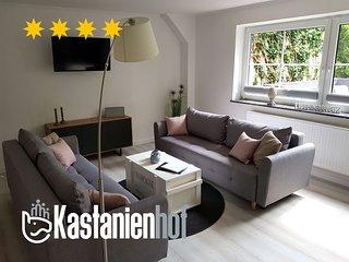 Neu sanierte Ferienwohnung (91m²) in der Lüneburger Heide mit Sauna & Poolhaus