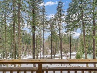 NEW LISTING! Gorgeous family-friendly home with private hot tub & mountain views
