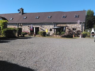 1 of 3 delightful gites with pool in the beautiful Mayenne countryside.