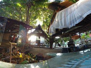 Casa na Arvore: entre o rio e a praia