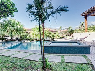 Family friendly Costa Rican getaway w/ a full kitchen, shared pool, & hot tub