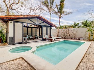 Luxurious, gated residence w/ private pool & gourmet kitchen - walk to the beach