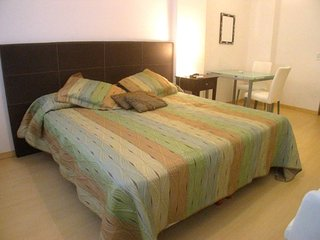 A138 Vacation Rental Modern Studio in a building with 24hs security in the Heart