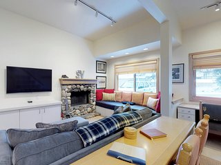 Ski-in/ski-out at this dog-friendly condo w/ shared pool access!