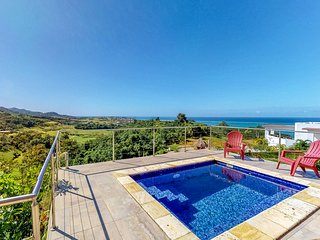 Breathtaking sea views & private plunge pool in a relaxing, secluded location!