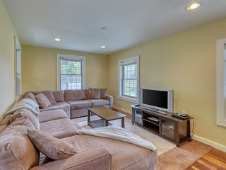 Spacious home with airy kitchen renovated kitchen, large deck and more!