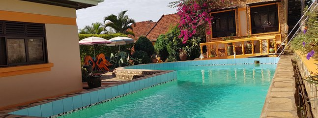 Swim or relax by our beautiful pool