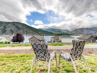 NEW LISTING! Lake view home w/ deck, shared pool, beach, tennis and boat rentals