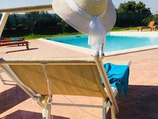 Villa con piscina 'Casale di Gio' Golfo di Castellammare