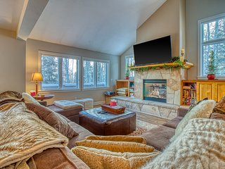 Enchanting mountain home in quiet East Vail neighborhood.