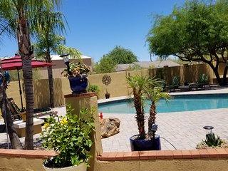 Quiet and Private Casita, N. Scottsdale, Cave Creek, Az, Patio & Pool, private