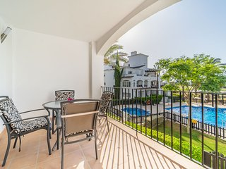 First Floor Apartment on La Torre Golf Resort- MURCIA VACATIONS- AO112