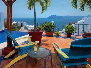 Luxurious Casa De La Vista - Panoramic Bay Views - Pool, Fully Staffed with Chef