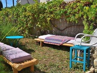Dana paradise, etage maison 3p, 70 m2, Jardin, calme, front de mer