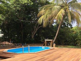 Villa coloniale de rêve tres proche de la plage - idéale pour les familles