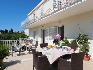 Apartments & Room Eva Slano - Two Bedroom Apartment with Terrace and Sea