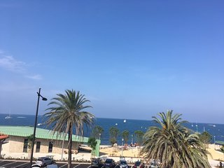 Apartment on la Salis beach with superb sea views