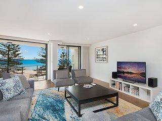 The Garland Unit 601 - 3 Bedroom Beachfront in Rainbow Bay Coolangatta